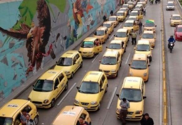 La hipocresía de los taxistas en Bogotá