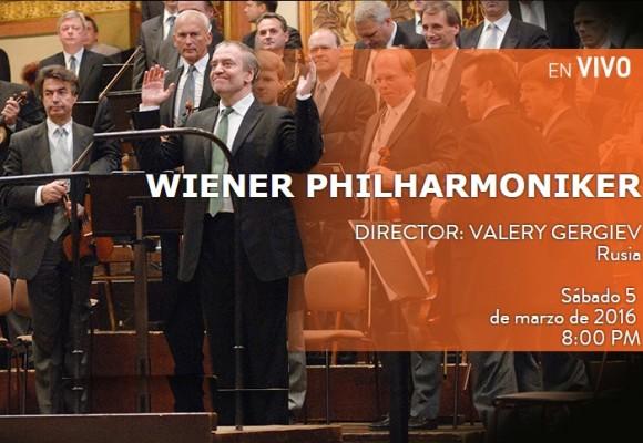 Vea en directo a la Orquesta Filarmónica de Viena