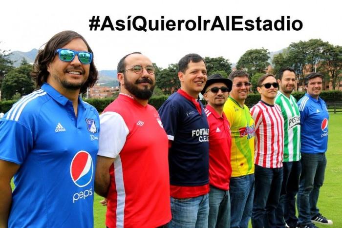 Foto vía Facebook - Así quiero ir al estadio