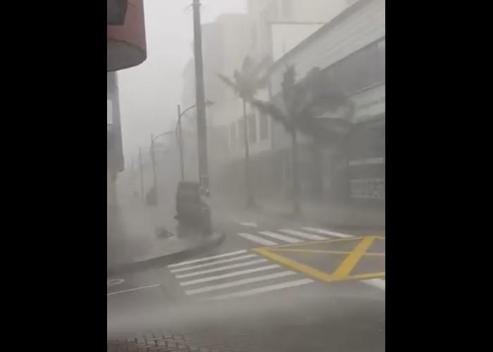 En video: el tremendo aguacero que azotó a Pereira