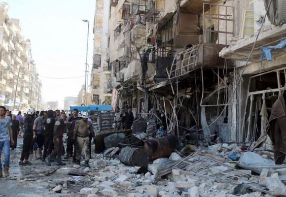 Ataques aéreos dejan más de 200 muertos en Siria