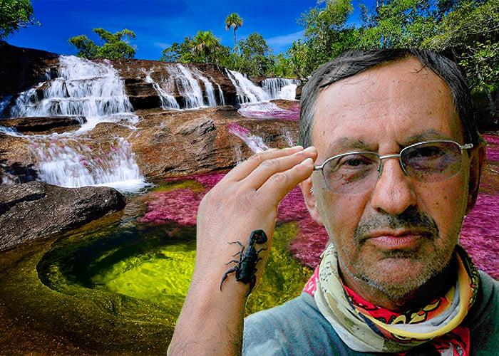 El explorador que fotografió por primera vez Caño Cristales