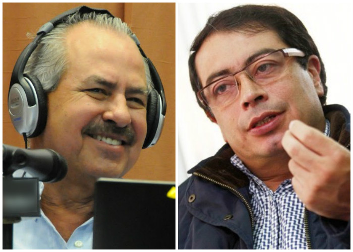 La mala leche de Darío Arizmendi contra Gustavo Petro