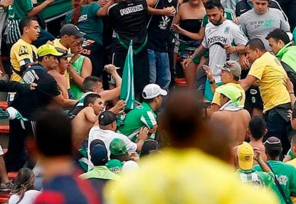 La barra brava del Nacional es una de las más peligrosas de Colombia