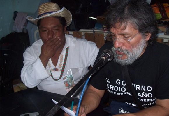 Jorge Caballero le sigue caminando a la palabra