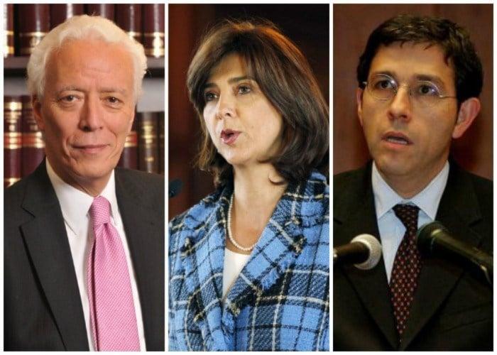 ¿Los tres responsables de los fallos adversos de La Haya?