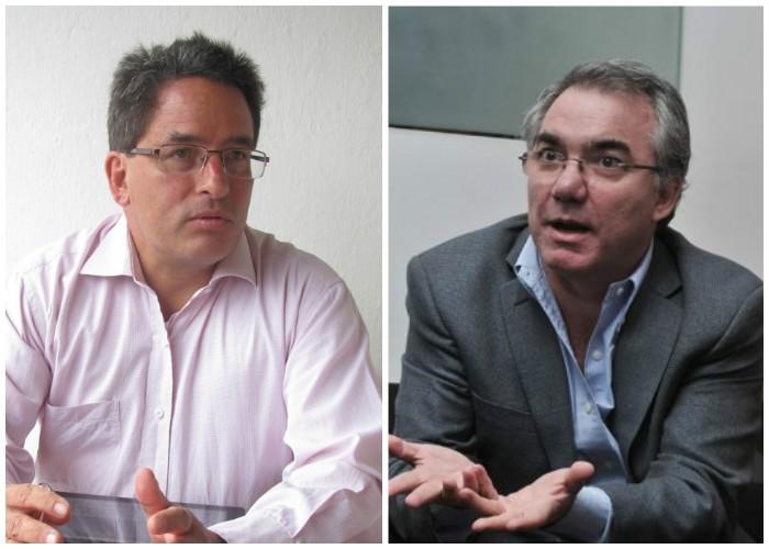 Los ministros Alberto Carrasnquuilla y Diego Palacio iniciaron un operativo para detener el cartel de pensiones que empezaba a formarse .