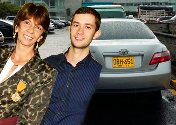La mamá, el hijo y el parlamentario detrás del carro millonario del Congreso