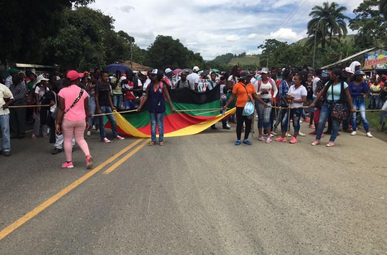 ¿Por qué las comunidades negras se tomaron la vía Panamericana?