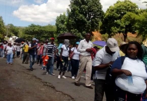 Afros del Cauca en pie de lucha contra Santos