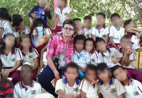 La maestra de Aguachica que quieren matar por evitar que sus alumnos pasen hambre