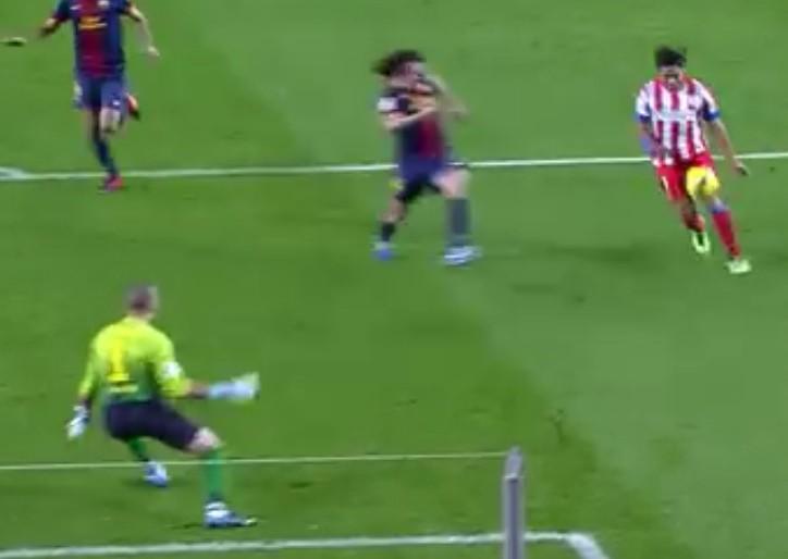 Cuando Falcao humilló al Barcelona en el Camp Nou