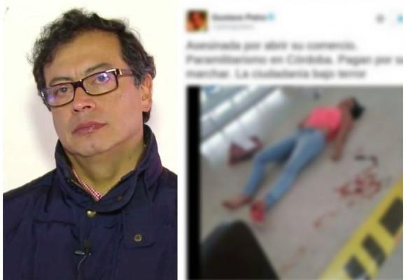 El muerto falso de Petro para sabotear la marcha de Uribe