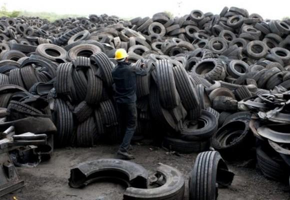 2.5 millones de llantas desechadas serán usadas como combustible