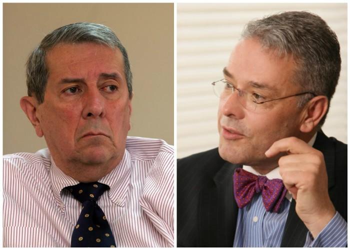 El presidente llamo a Nieto Navia y Juan Daniel Jaramillo a asesorar la cancillería después de primer gran revés de noviembre del 2012