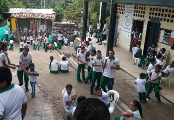 Paro de estudiantes en Segovia, Antioquia