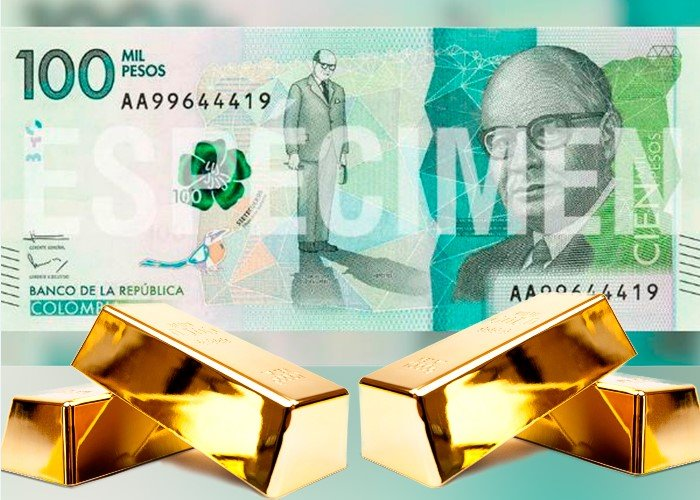 Ya no hay oro en el Banco de la República