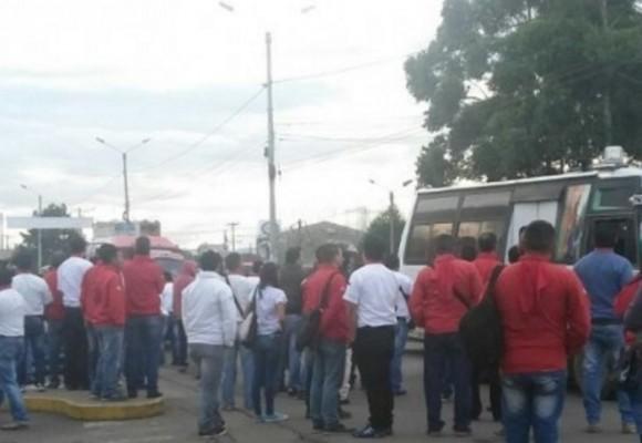 El sorpresivo paro de transportadores en Popayán