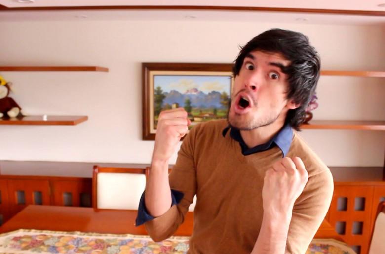 Hola soy Germán, el youtuber que colapsó la Feria del Libro en Bogotá