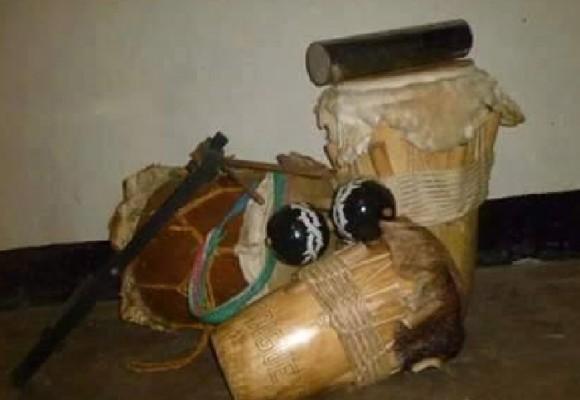 Tambores para tocar hechos en Colombia