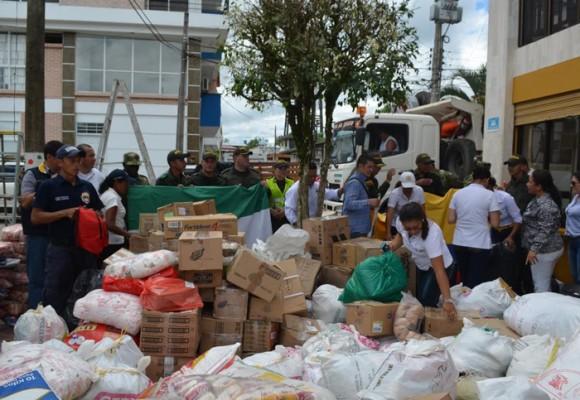 Putumayo se solidariza con el Ecuador