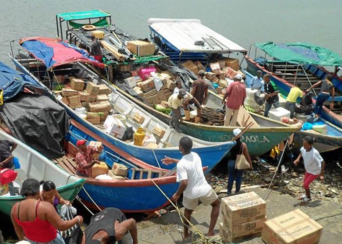 Carreteras y puerto de redención de Tumaco