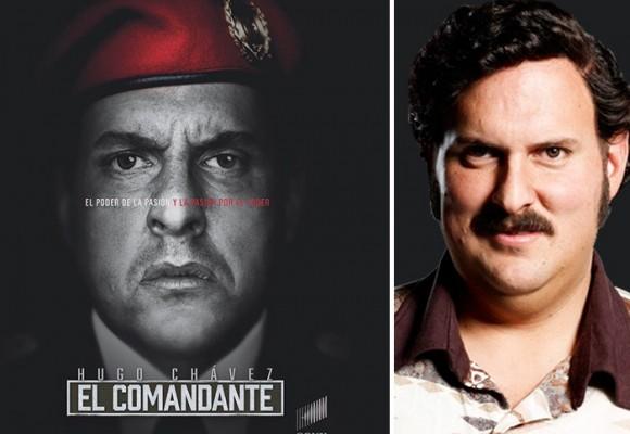 Chávez llega a la TV colombiana encarnado por el actor Andrés Parra