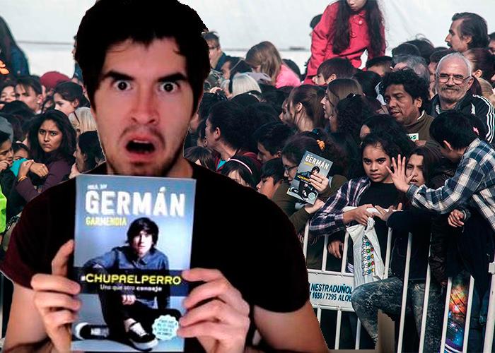 Después de colapsar Corferias, el youtuber Germán Garmendia repitió dosis en Buenos Aires