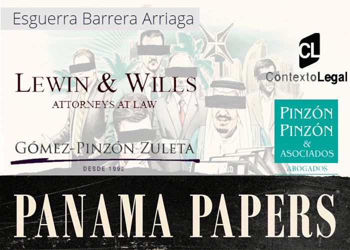 Reconocidas firmas de abogados colombianas entre las intermediarias en los Panamá Papers