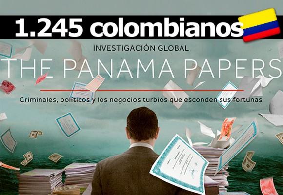 Panamá papers: lista completa de los 1245 colombianos