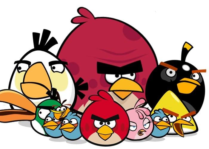 Angry Birds o los pájaros suicidas