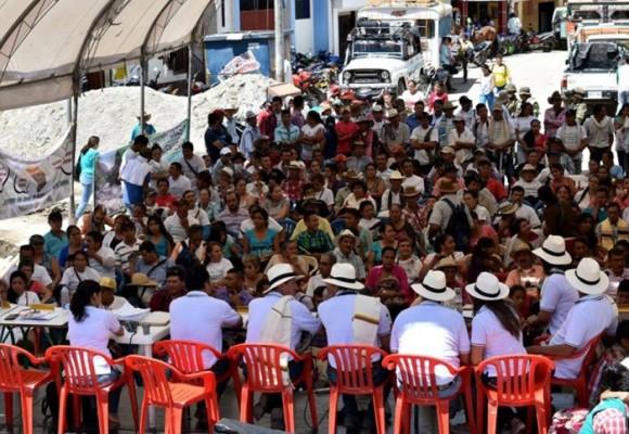 Cabildo abierto dijo ¡NO a la hidroeléctrica sobre el río Ambeima!