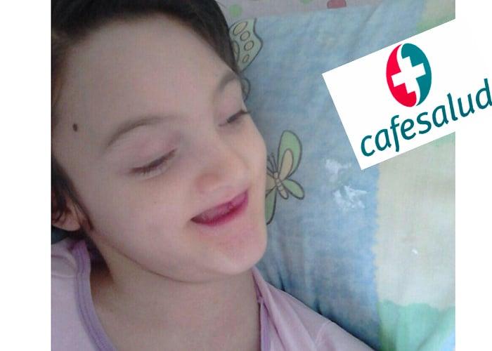 ¿Cafesalud está acabando con Marianita una niña de 14 años con parálisis cerebral?