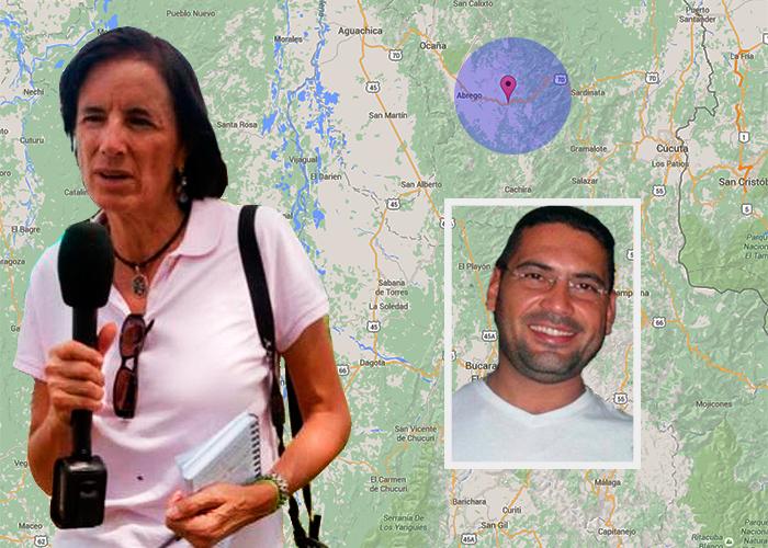 La odisea de los periodistas en El Catatumbo tras los pasos de Salud Hernández