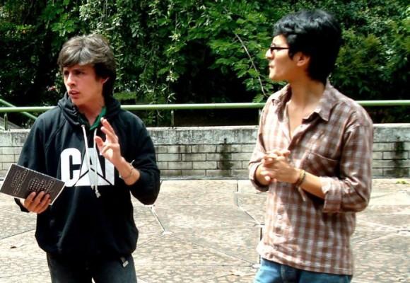 'La Silla Renca' y los jóvenes escritores de Popayán