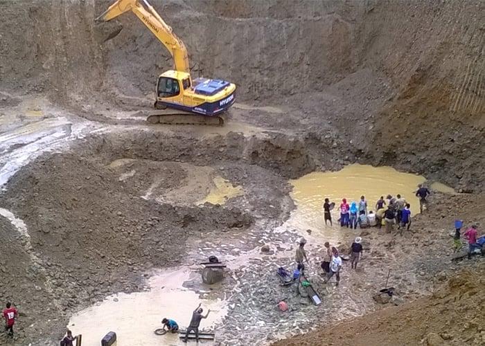 La minería está acabando con los ríos del Cauca