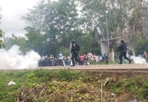 Video: ESMAD reprime a indígenas en Córdoba