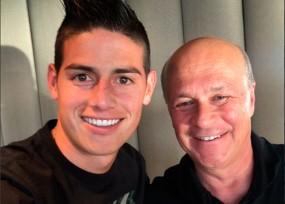 James no se va del Madrid y quiere convencer a Zidane
