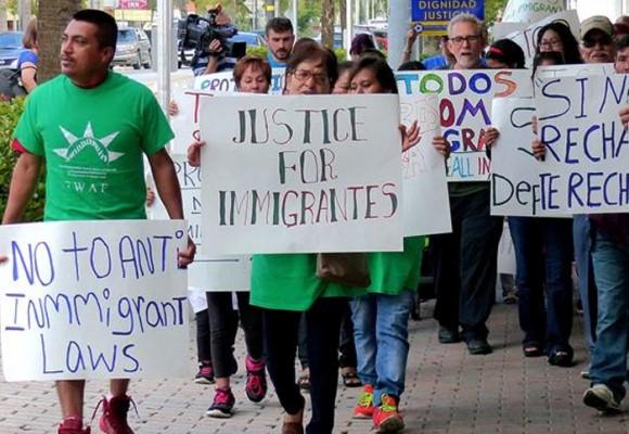 El paradigma del inmigrante latino