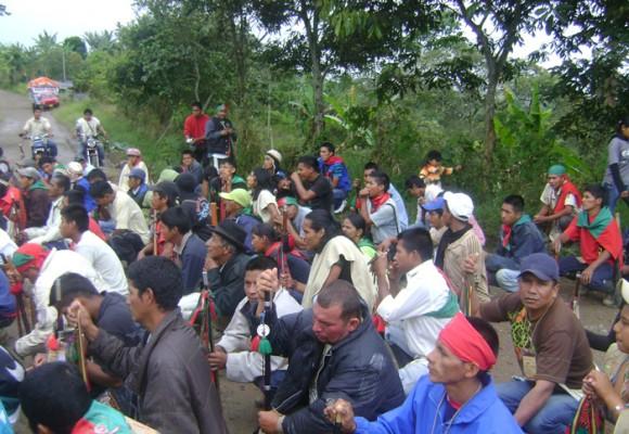 Comienza Minga popular en 15 departamentos de Colombia