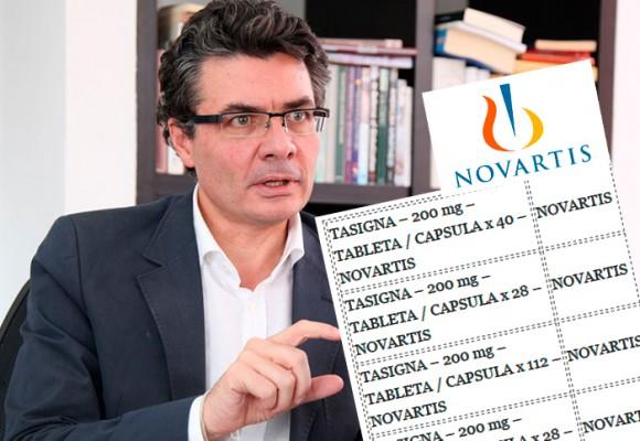 Los 17 medicamentos de Norvatis que MinSalud logró bajarles el precio
