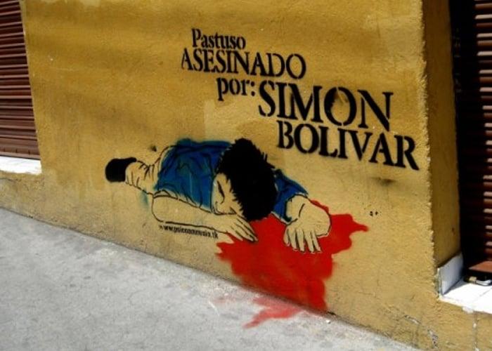 ¿Se debe colocar de nuevo la estatua de Simón Bolívar en Pasto?
