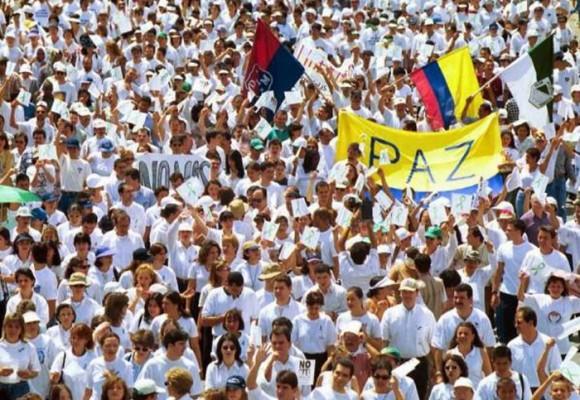Movilización de masas por la paz