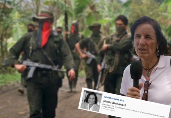 La columna de Salud Hernández que calentó el ambiente en El Tarra
