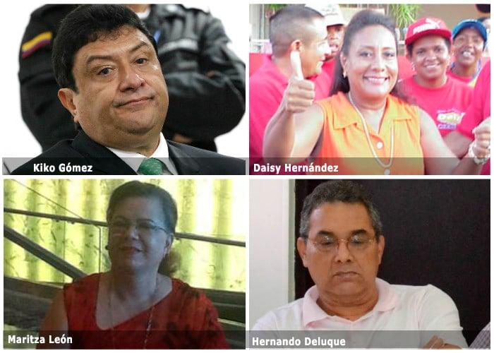 Políticos guajiros salpicados de paramilitarismo a los que no les pasó nada