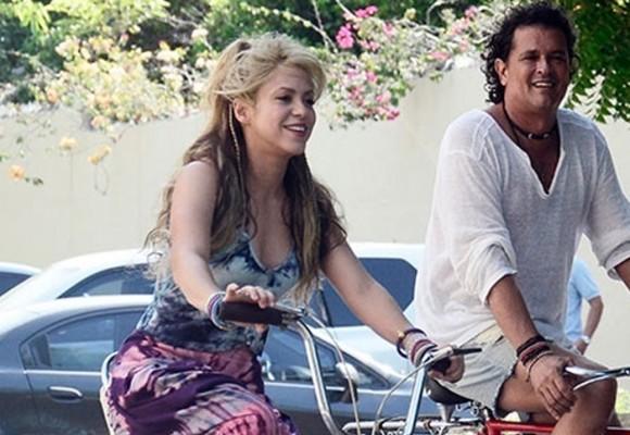 Shakira le pide a Carlos Vives que le lleve a 'su Piqué' al Tayrona