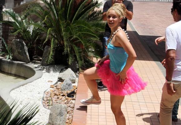 Críticas en Barranquilla por la excesiva seguridad a Shakira
