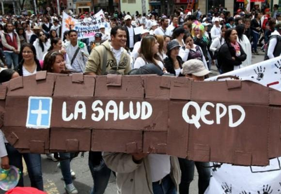 Un réquiem por la salud en Colombia