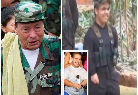 Rigo, el hijo de Tirofijo, llegó a La Habana