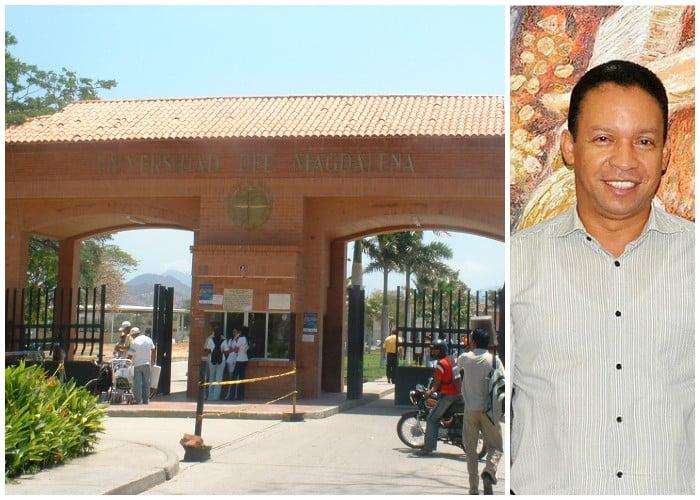 Crisis en la UniMagdalena ¿Qué dice Ruthber Escorcia, su rector?